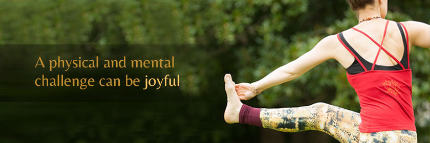 A physical and mental challenge can be joyful